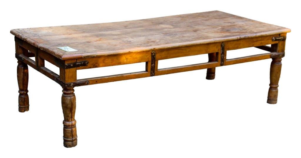 Table basse ancienne en teck Image