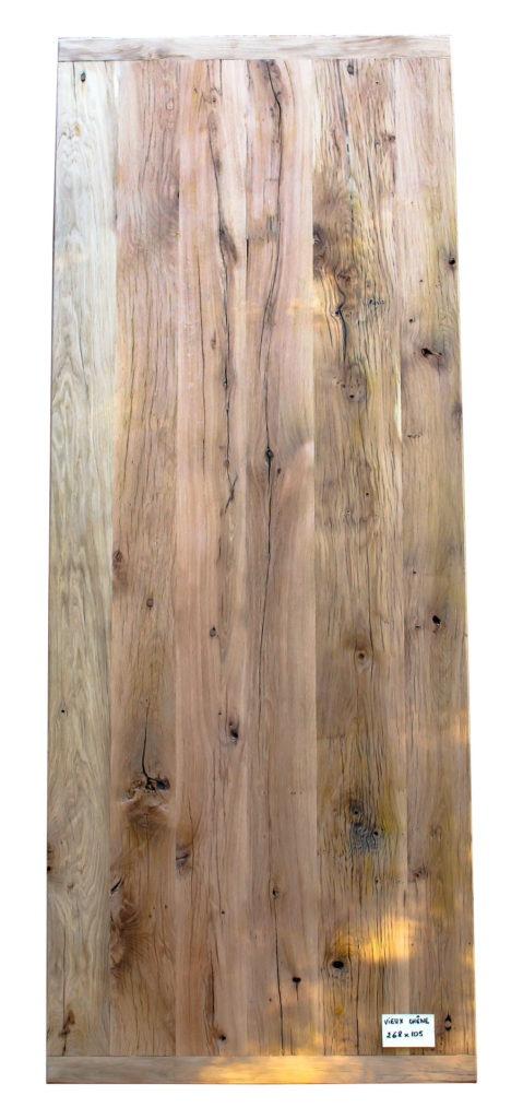 Plateau de table en vieux chêne 268 x 105 Image