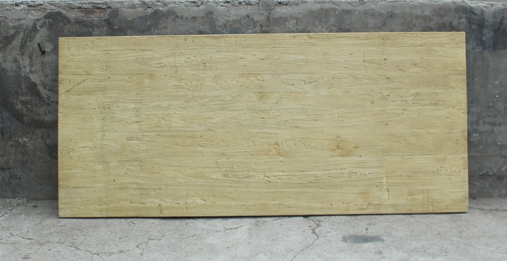 Plateau de table vieux teck ADA Image