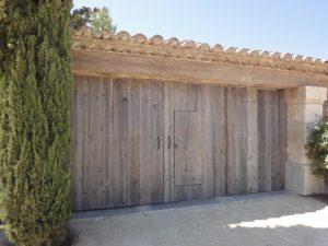 portail basculant bardage Image