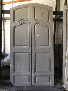 Porte 2 vantaux Louis XV Image